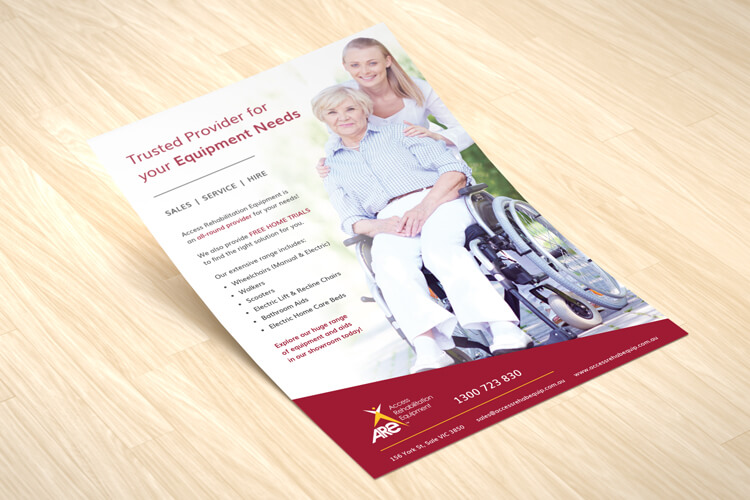 Access rehab flyer