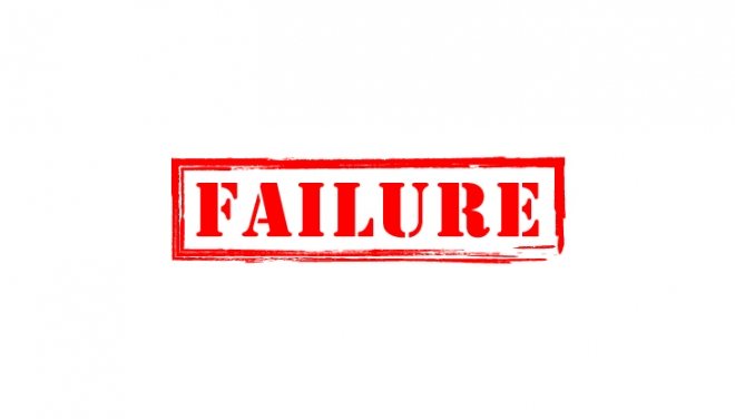Failure. Are we all a bunch of hypocrites?