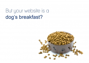 Looking for quality leads, but your website is a dog's breakfast?