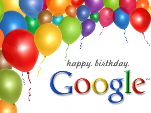 Happy Birthday Google!