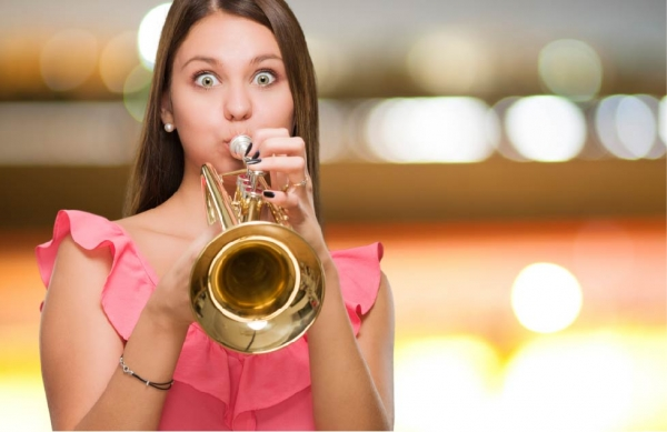 Why women need to stop blowing their own trumpet