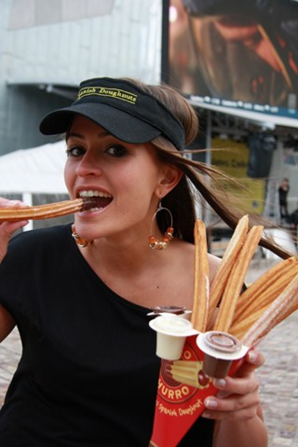 World's First Churro Eating Competition hits Melbourne
