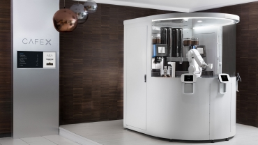 The perfect coffee every single time, made by a robot