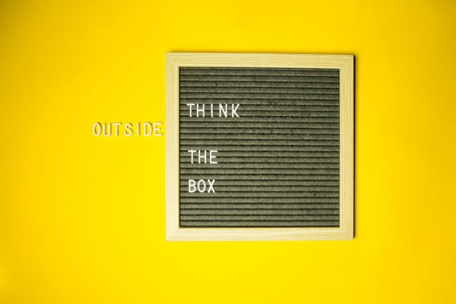 How to get your staff to think outside the box