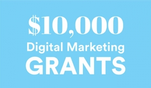 $10,000 Grant for Small Business Owners who want to up their marketing efforts