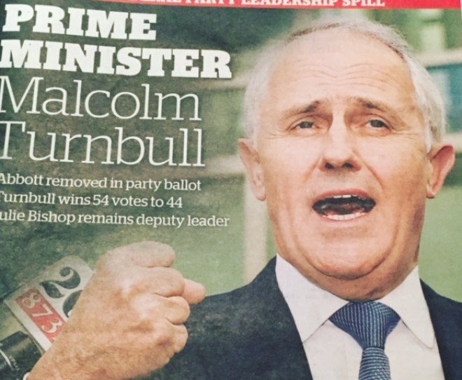 Malcolm Turnbull will show Australia what a true leader does when they run a country