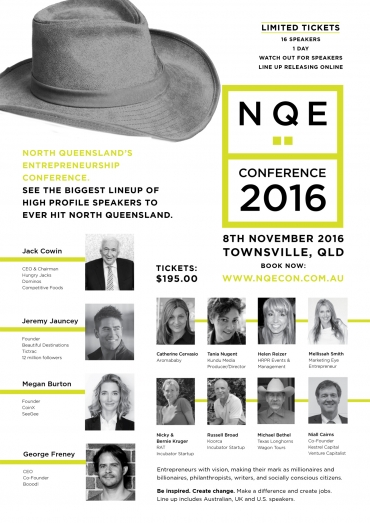 The adrenaline of organising one of the best business conferences in Townsville is exhilarating