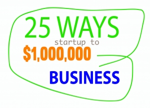 25 Ways To Turn a Startup Into A Million Dollar Business in 12 Months
