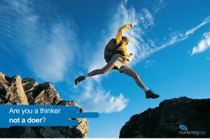 A must read for sme's : Are you a thinker... not a doer?